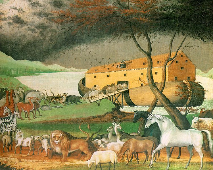 Noah's Ark by Edward Hicks (1780–1849)