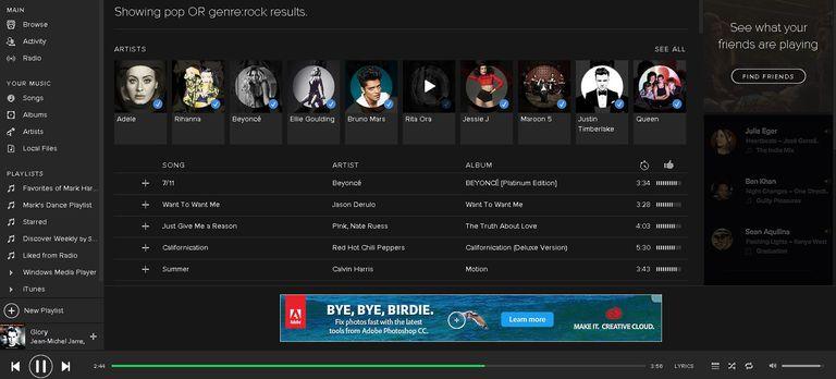 Spotify Advanced Music Search