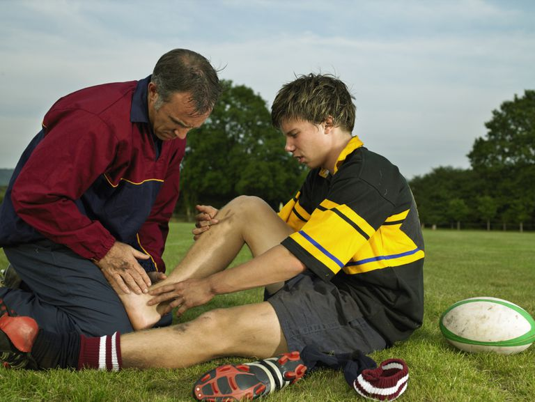 ankle sprain sports