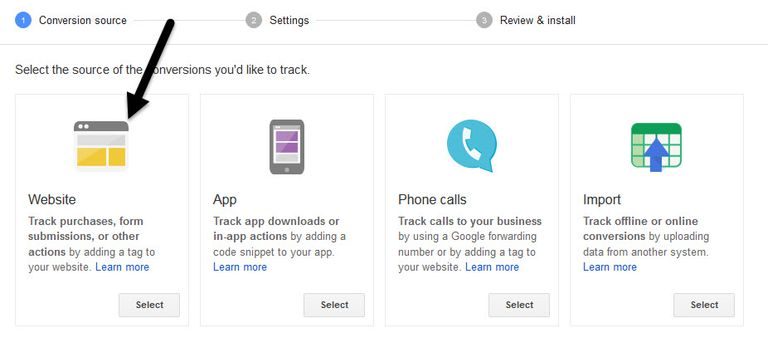Google Adwords Converstion Tracking