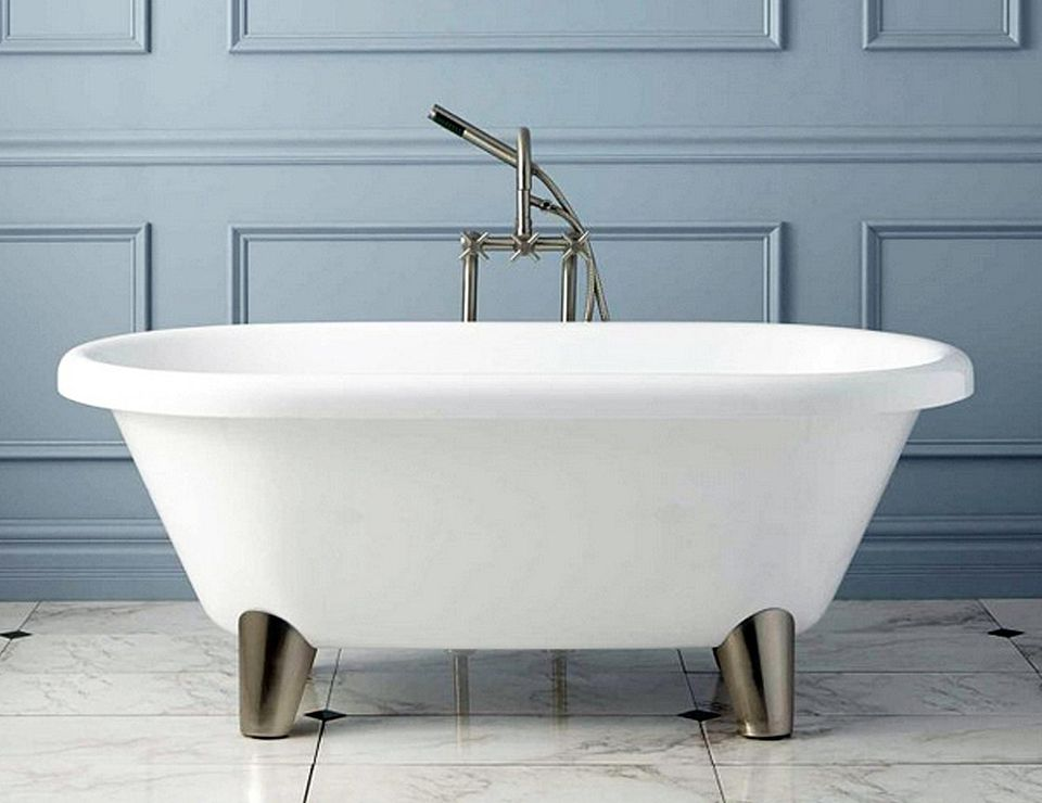 6 foot clawfoot tub. Signature Abbott footed tub jpg Clawfoot Tubs to Fit Your Space  And Budget