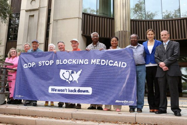 MoveOn Pledges To Continue Medicaid Fight After Billboard Hearing In Louisiana