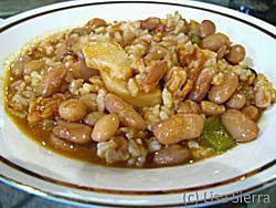 Spanish White Beans and Rice - Empedrado de Arroz