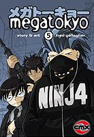 Cover artwork for Megatokyo Volume 5 by Fred Gallagher