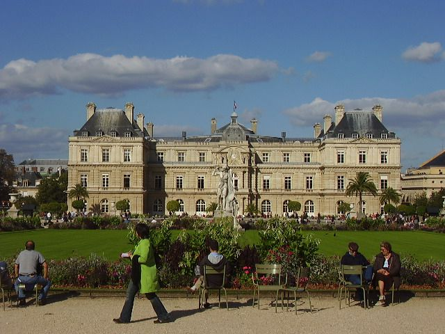 The Jardin du Luxembourg is a favorite Paris spot for sunning and strolling.