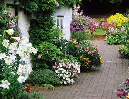 whats your garden design style - Garden Design Cottage Style