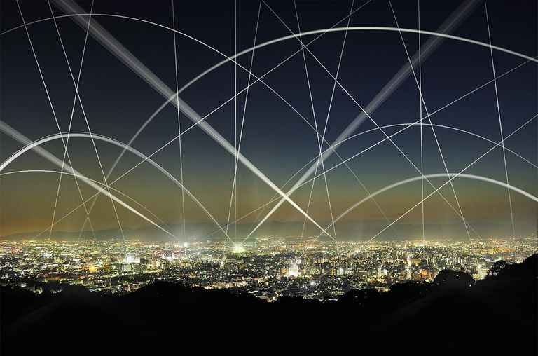 The network of city building