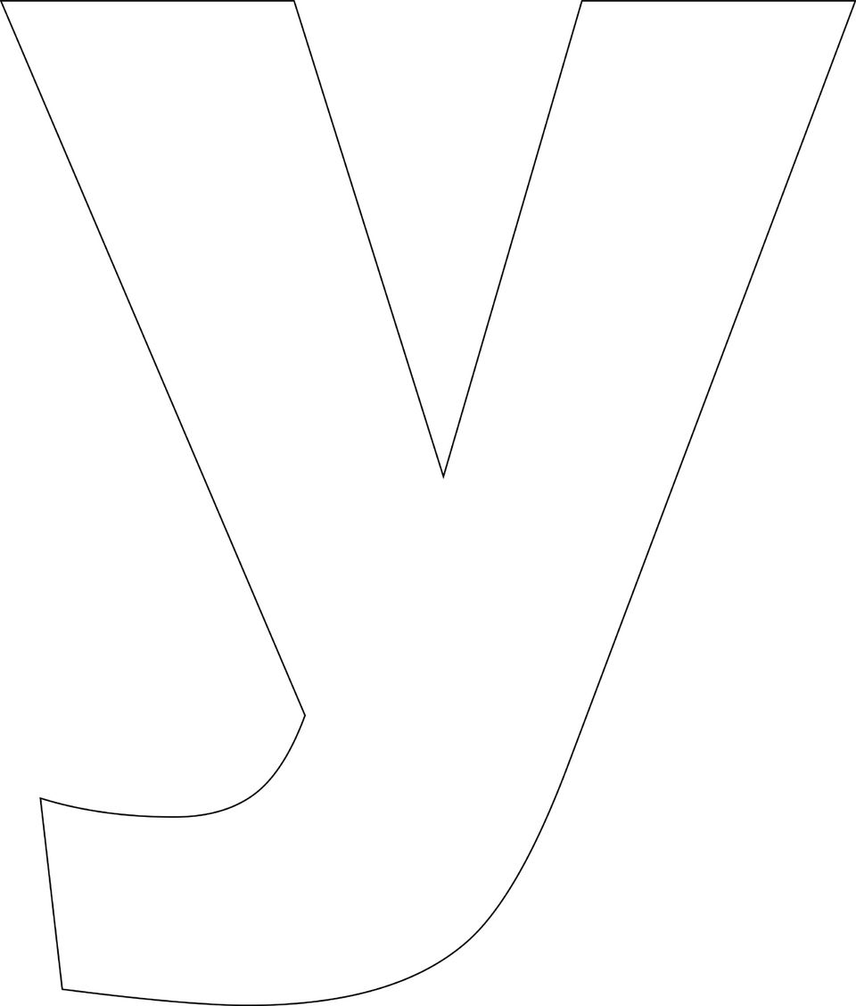 Critical image throughout letter y printable