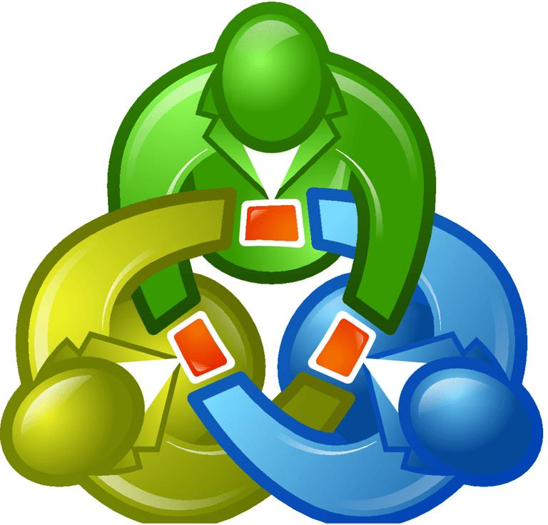 Screenshot of the MetaTrader logo