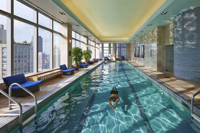 Best Hotel Swimming Pools in Manhattan. 8 Best Hotel Swimming Pools in Manhattan