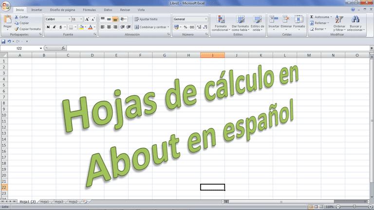 Hojas de calculo About.com
