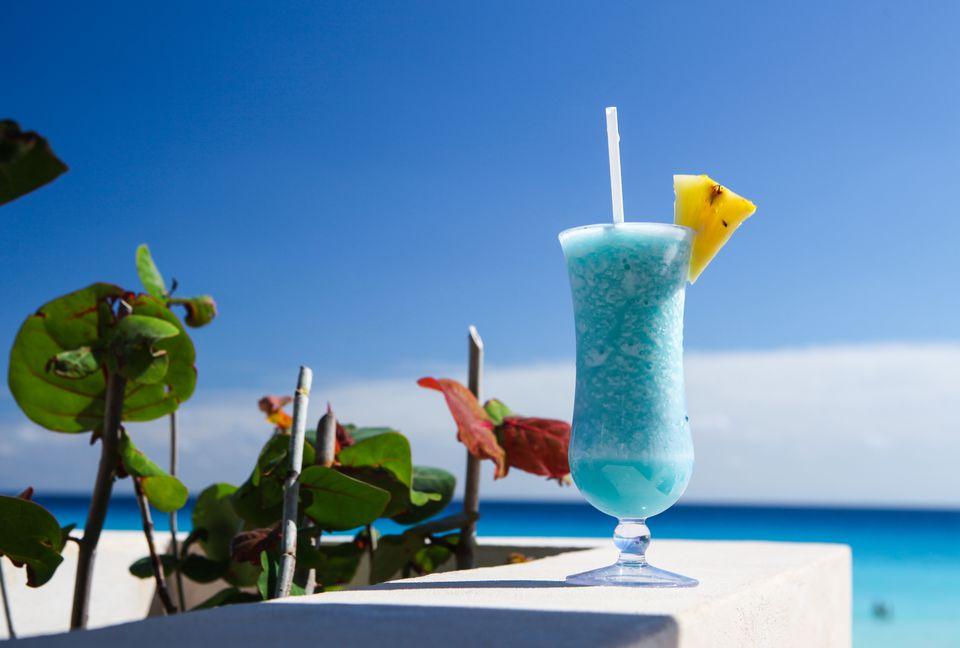 Blue Hawaiii Cocktail
