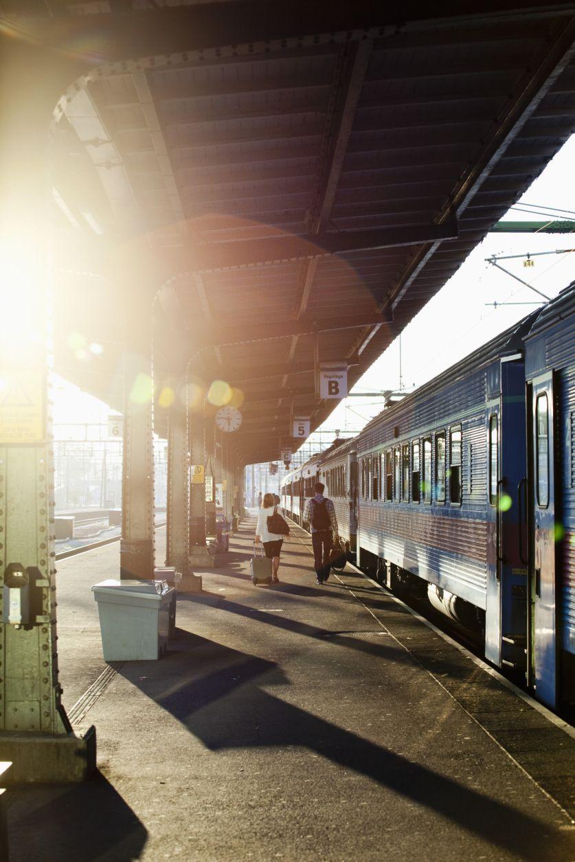 Train Station in Sweden