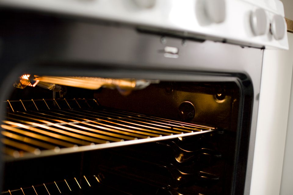 The broiler is the overhead heating element in the oven