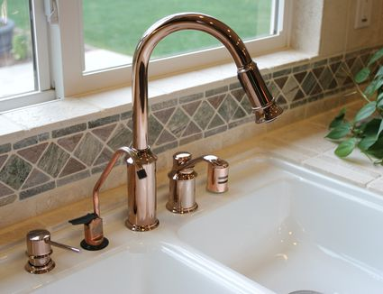 How to install a kitchen sink drain install a kitchen soap dispenser workwithnaturefo