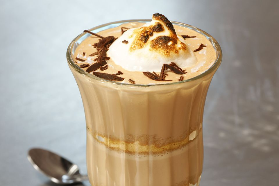 Boozy S'Mores Milkshake With Rumchata and Marshmallow Vodka