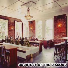 vancouver cocktail bars: the diamond