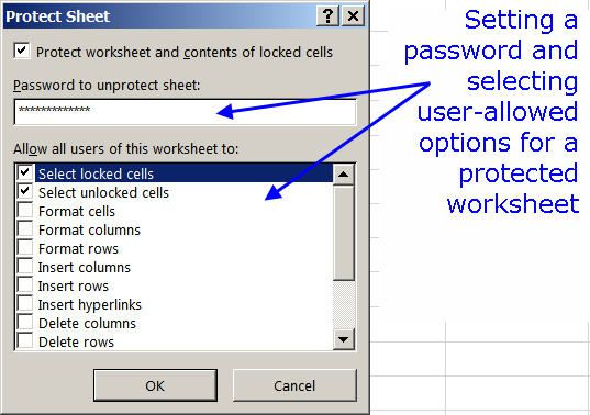 How to Lock Cells and Protect Worksheets in Excel – Protect Excel Worksheet