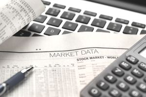 Financial services, viewing financial markets for investing