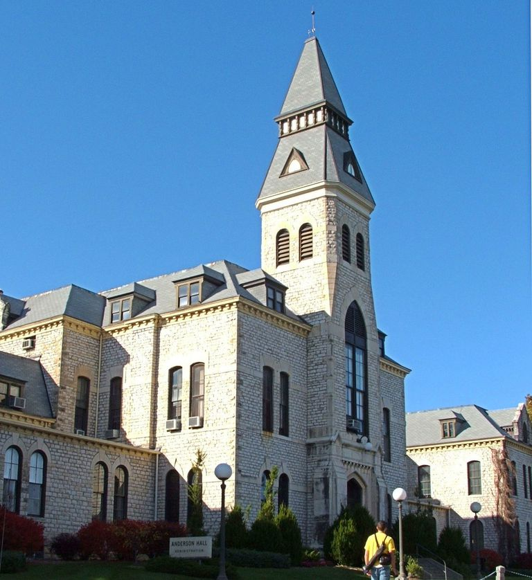 Anderson Hall at Kansas State University