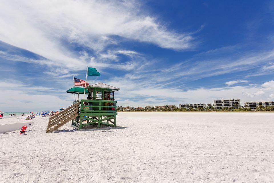 Siesta Beach in Sarasota Florida.