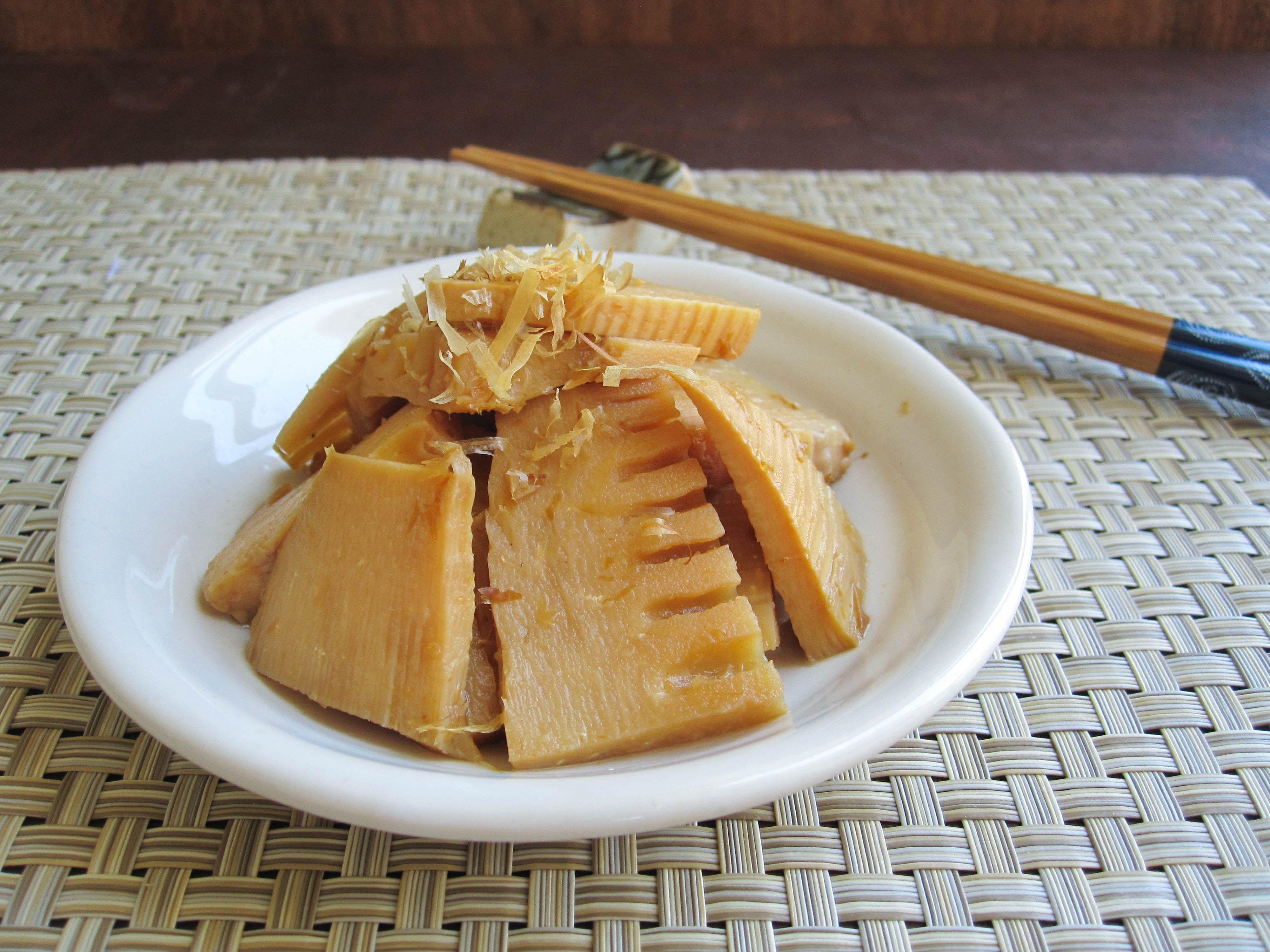 Simmered Bamboo Shoots Takenoko No Nimono