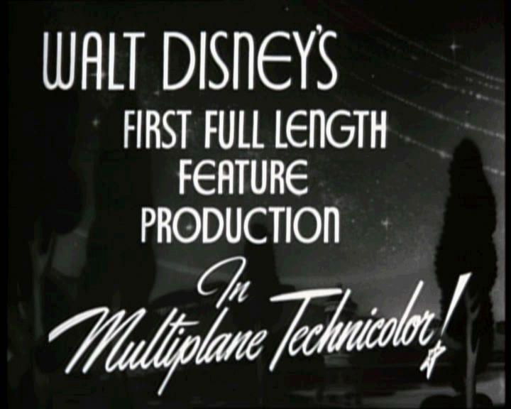 Still from Snow White, 1937
