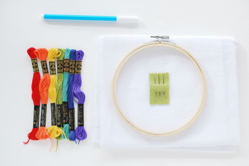 How to get started with embroidery the easy way