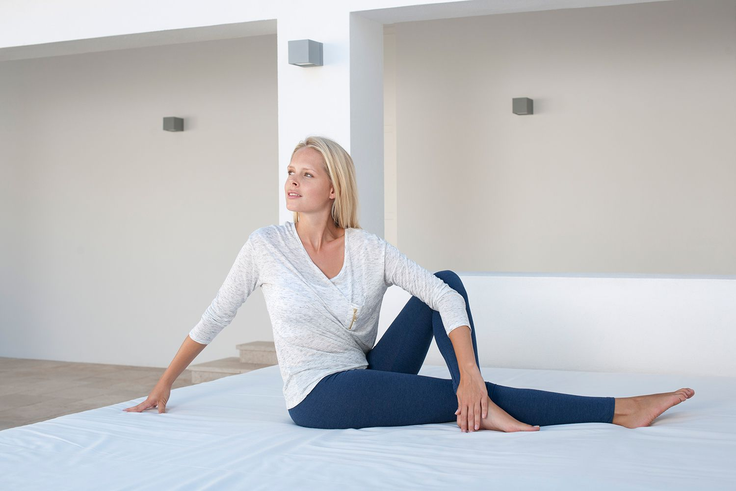pilates mat exercises you can do in bed. Black Bedroom Furniture Sets. Home Design Ideas