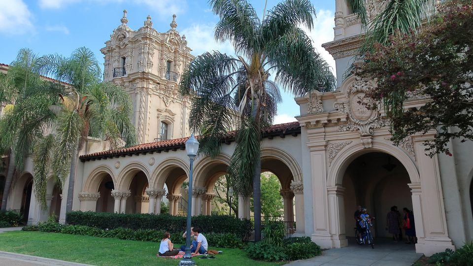 The El Prado Complex in Balboa Park, San Diego