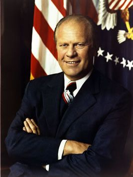Gerald Ford, Thirty-Eighth President of the United States