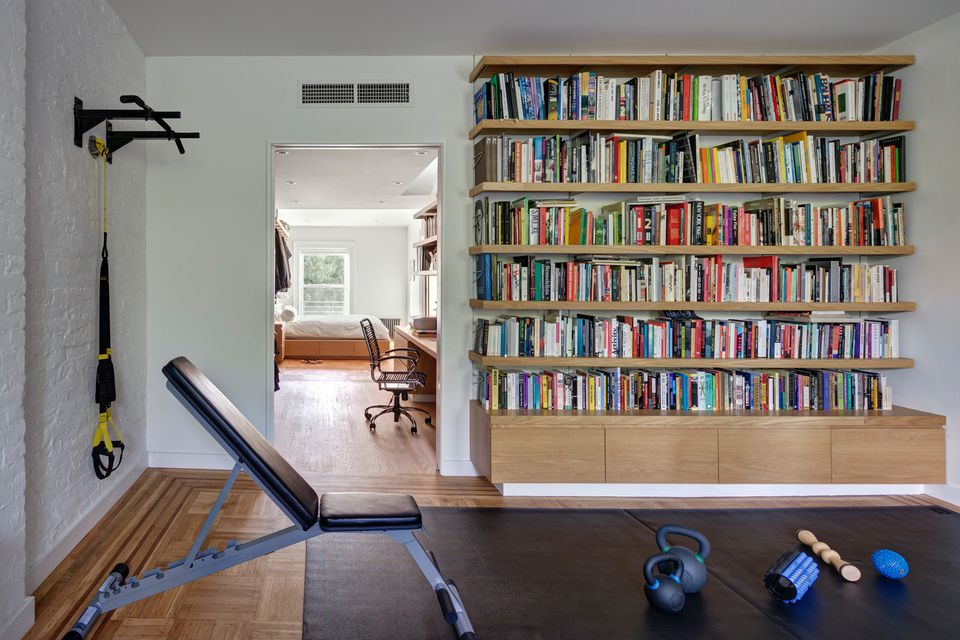 second bedroom home gym