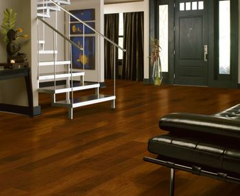 Bruce Lock and Fold Is Real Hardwood That Installs Like Laminate