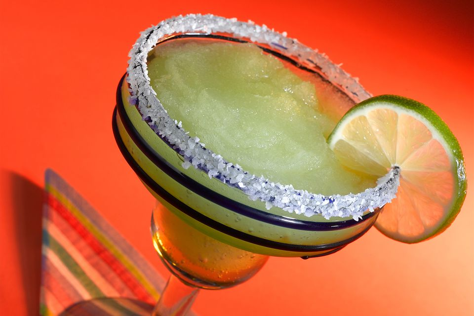 Margarita with Salt Rim