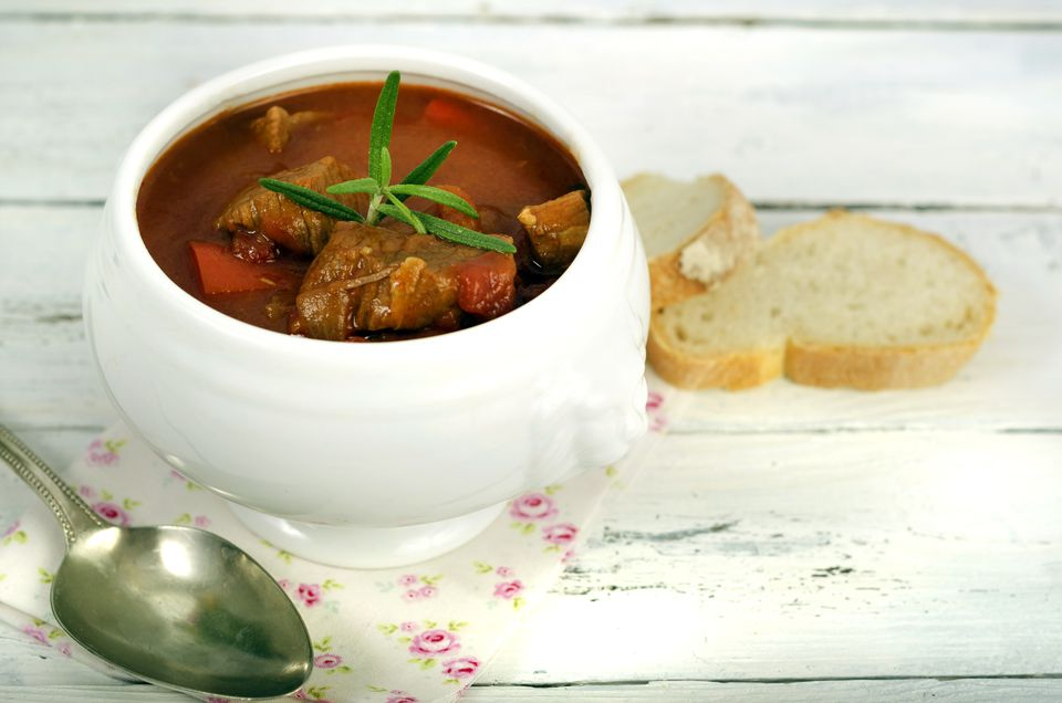stew in bowl