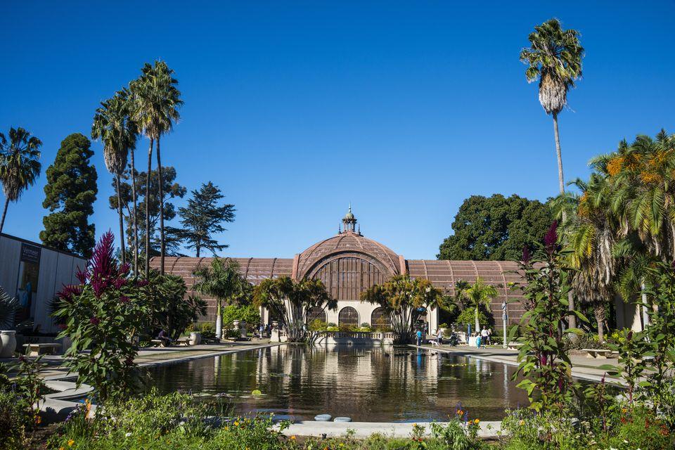 The Botanical Building in Balboa Park