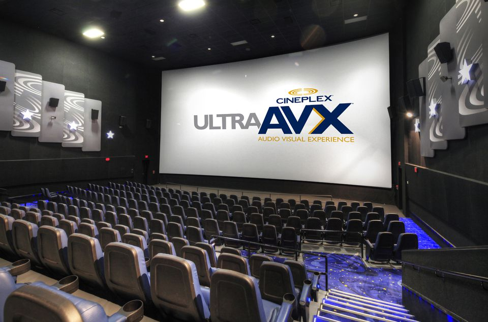UltraAVX review, the next evel of cinema according to Cineplex Odeon.
