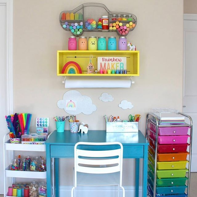 "7 Inspiring Kid Room Color Options For Your Little Ones: 21 ""Dream Bedroom"" Ideas For Girls"