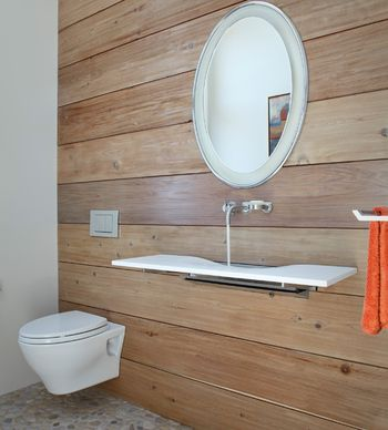 Tiny Bathroom? Hang your Toilet on The Wall!