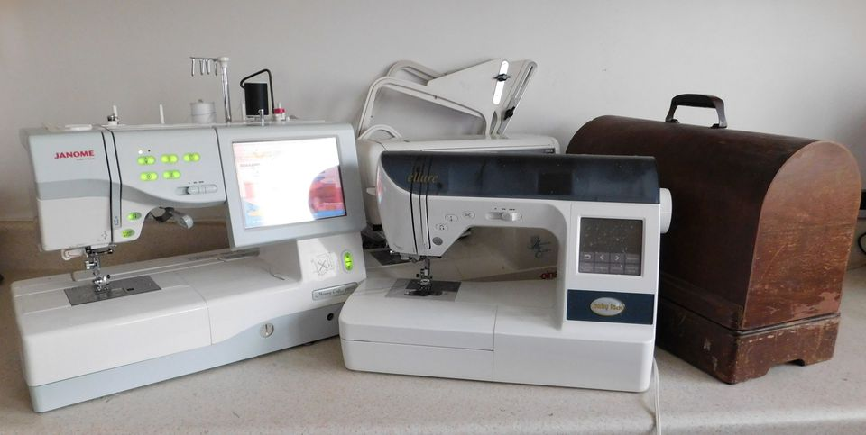 Janome, Baby Lock, Singer and Elna Sewing Machines