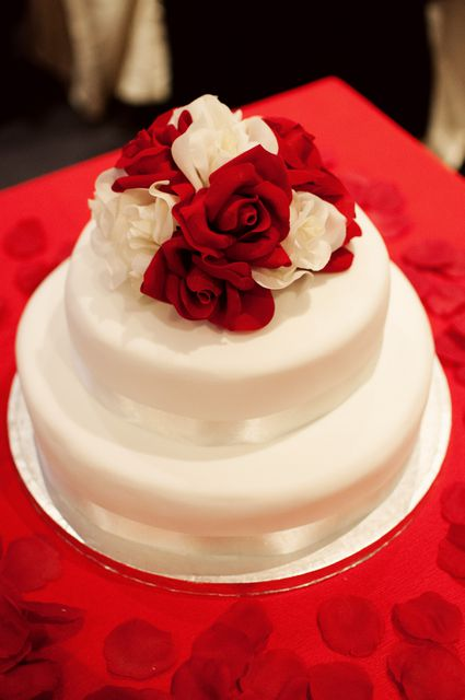 Inspiring tales of diy wedding cakes can you believe her wedding cake was her first fondant cake solutioingenieria Image collections