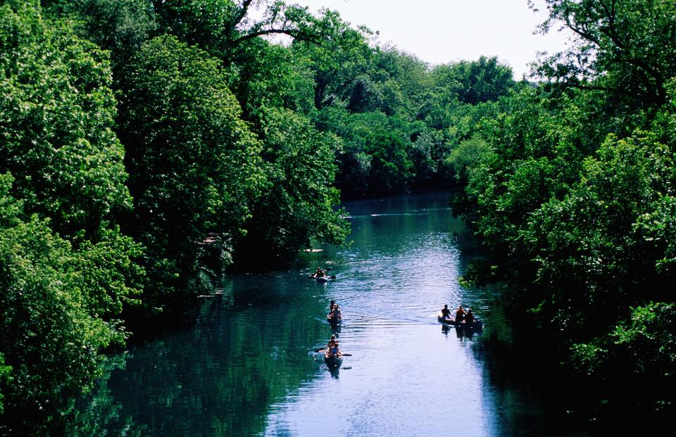 Barton Creek in Austin