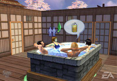 The Sims 2 PS2 Screenshot