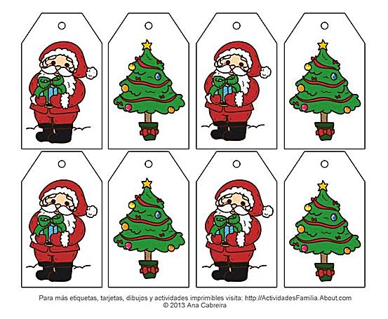 Etiquetas de navidad para imprimir gratis - Imagenes de navidad para imprimir gratis ...