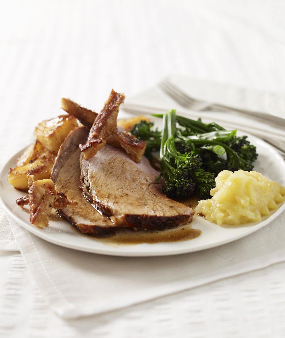 BBQ pork leg