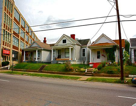 Houses in the Germantown neighborhood of Louisville