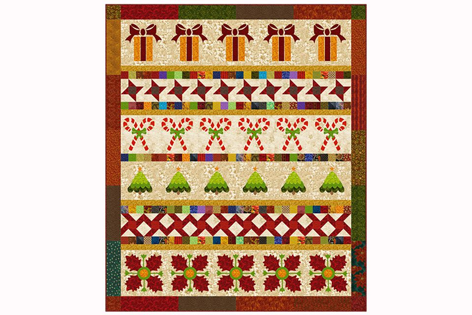 Christmas Row Quilt Pattern