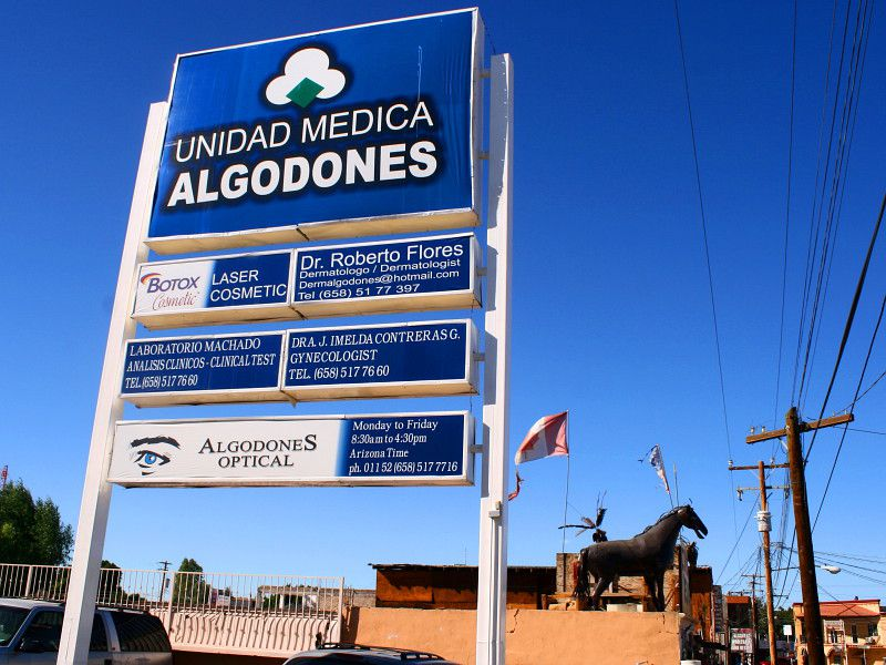 Doctors in Algodones