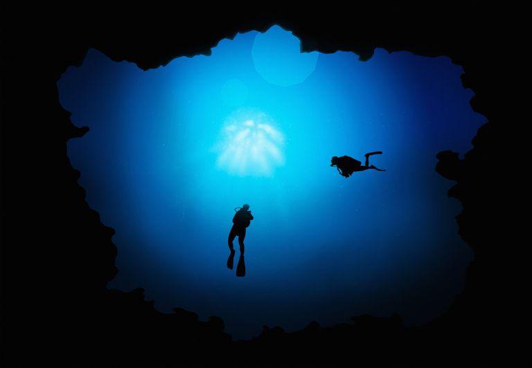 Deep divers may experience barotrauma