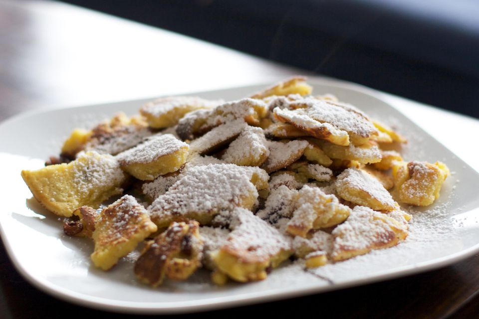Austrian Pancakes With Raisins (Kaiserschmarrn) Recipe